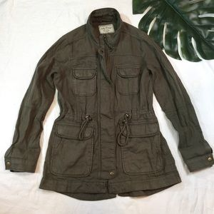 LUCKY BRAND | army green utility jacket
